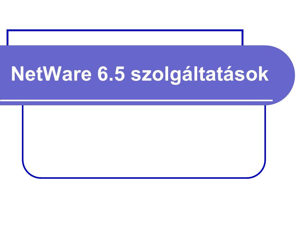 NetWare 6.5 szolgáltatások