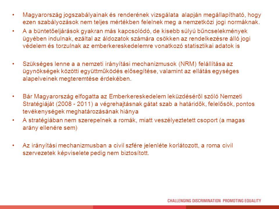 Magyarország jogszabályainak és renderének vizsgálata alapján megállapítható, hogy ezen szabályozások nem teljes mértékben felelnek meg a nemzetközi j