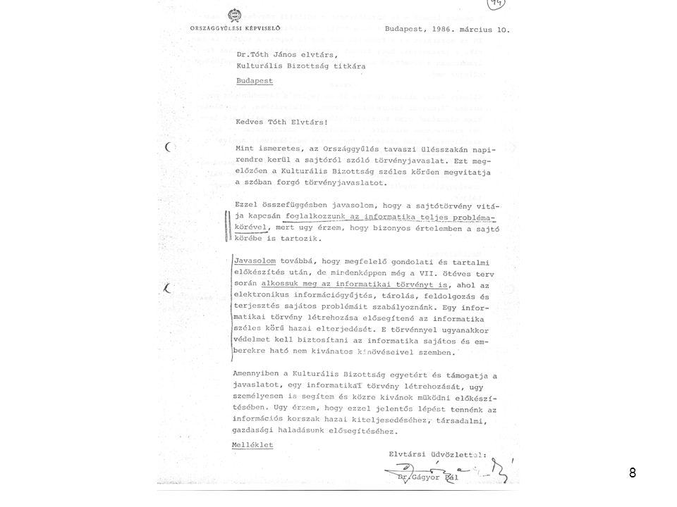 19 Infofilia Magyar Adatvédelem és Információszabadság Alapítvány kiadványai.