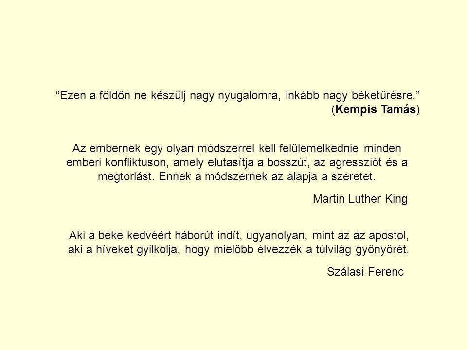 """""""Ezen a földön ne készülj nagy nyugalomra, inkább nagy béketűrésre."""" (Kempis Tamás) Az embernek egy olyan módszerrel kell felülemelkednie minden ember"""