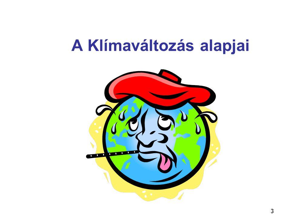 3 A Klímaváltozás alapjai