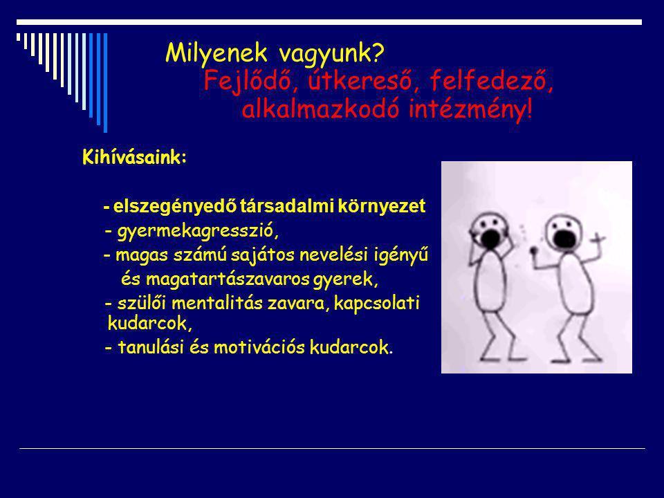 - minden gyermek otthonról hozott tudását és kultúráját értékként jeleníti meg és kamatoztatja, - tudatosan építi ki az előítéletek csökkentésére alkalmas, elfogadó környezetet, - az egyéni különbözőségekre figyelő pedagógiai eszközöket alkalmaz és ennek jegyében tudatosan törekszik az is k olában megjelenő különböző kultúrák ( ez esetben a cigány és a horvát kultúra) ismeretére, megismertetésére és elfog- adtatására, - tiszteletben tartja a másságot, és eszközeivel alkalmaz- kodik annak kezelésére.
