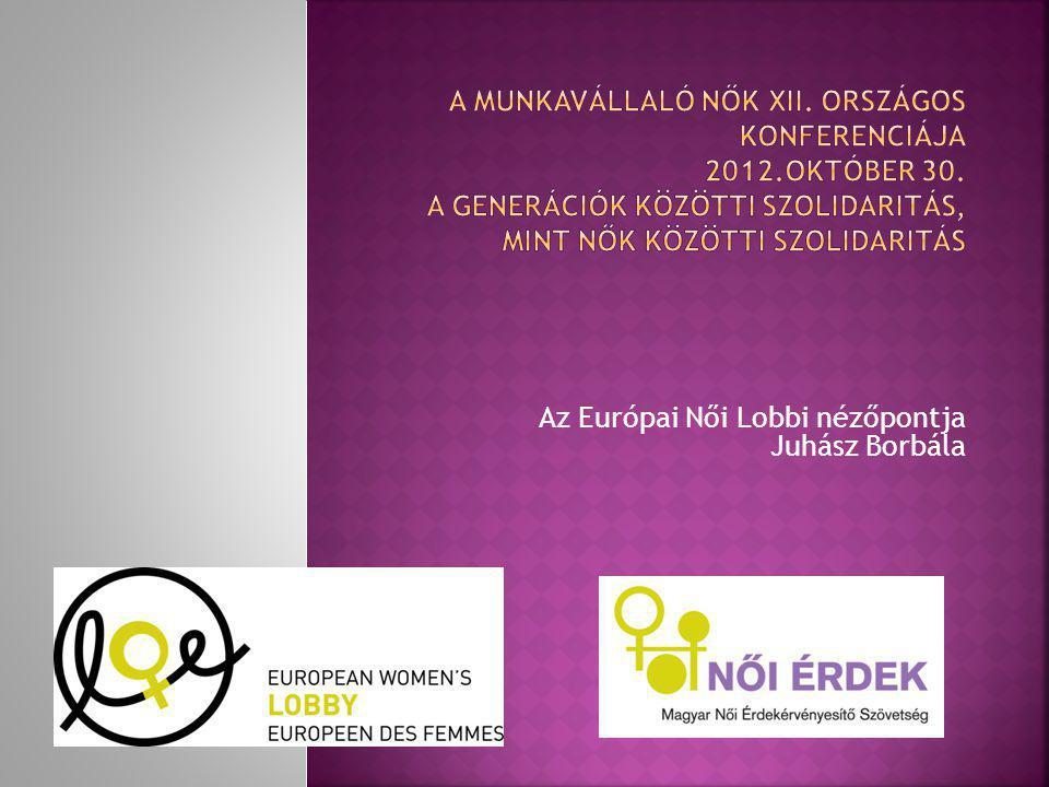 Az Európai Női Lobbi nézőpontja Juhász Borbála