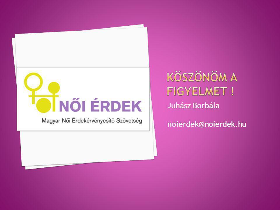 Juhász Borbála noierdek@noierdek.hu
