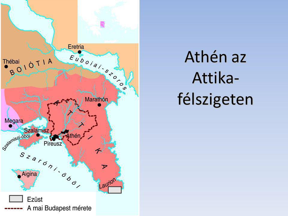 Athén az Attika- félszigeten