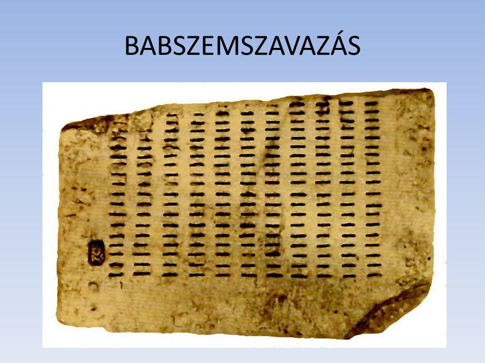 BABSZEMSZAVAZÁS