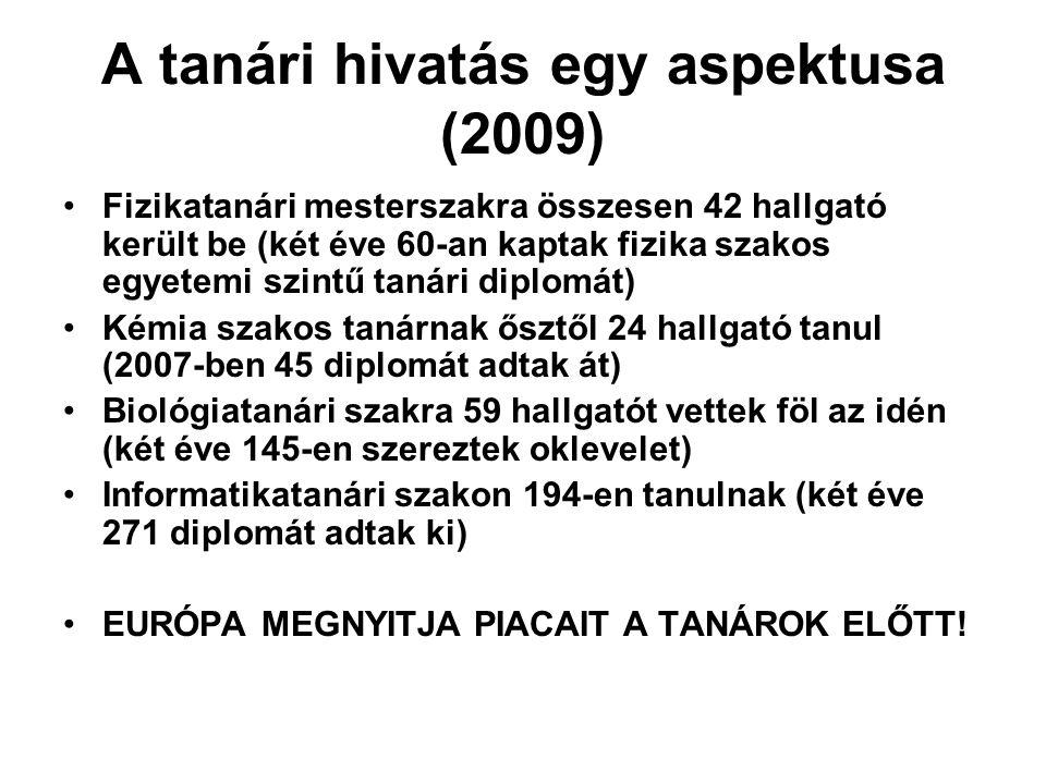 Ktv.módosítás (2009. évi XLIX. és LVI. törvény) Szakképzés –Az ált.