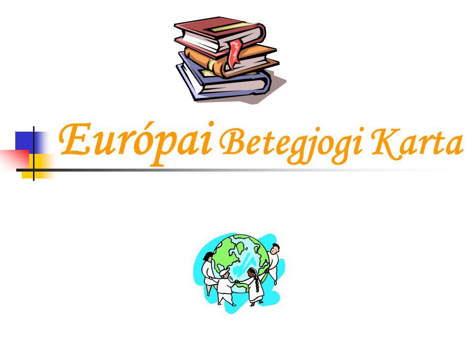 Európai Betegjogi Karta