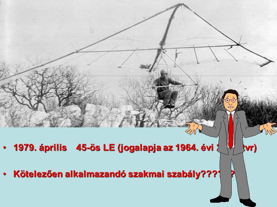 1979. április 45-ös LE (jogalapja az 1964. évi 26.sz.tvr)1979. április 45-ös LE (jogalapja az 1964. évi 26.sz.tvr) Kötelezően alkalmazandó szakmai sza