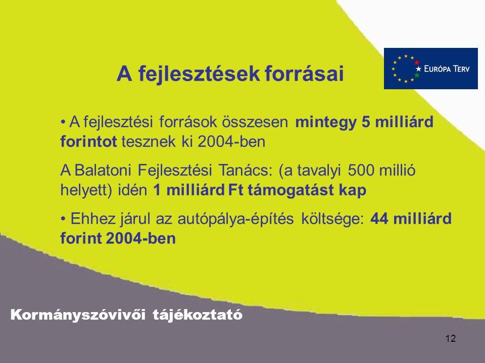 Kormányszóvivői tájékoztató 11 Önkormányzat tulajdonszerzési lehetőségek A Balatoni Halászati Rt. átalakításához kapcsolódóan, a az önkormányzatok tul