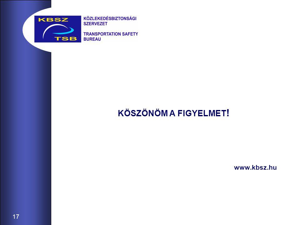 17 KÖSZÖNÖM A FIGYELMET ! www.kbsz.hu