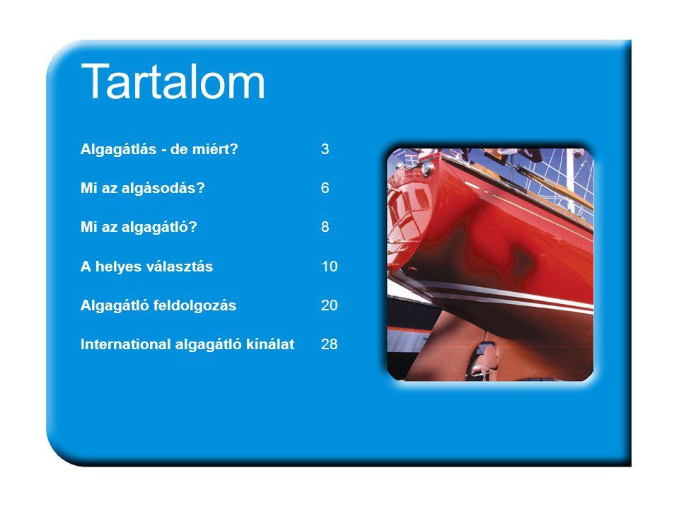 ANTIFOULING 43 Interspeed ® Ultra Rendkívül erős algagátló, az erősen terhelt vizekre.