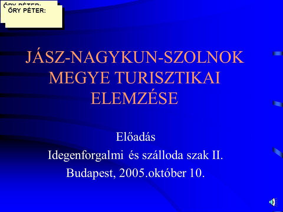 Turizmus értékelése, javasolt fejlesztések II.