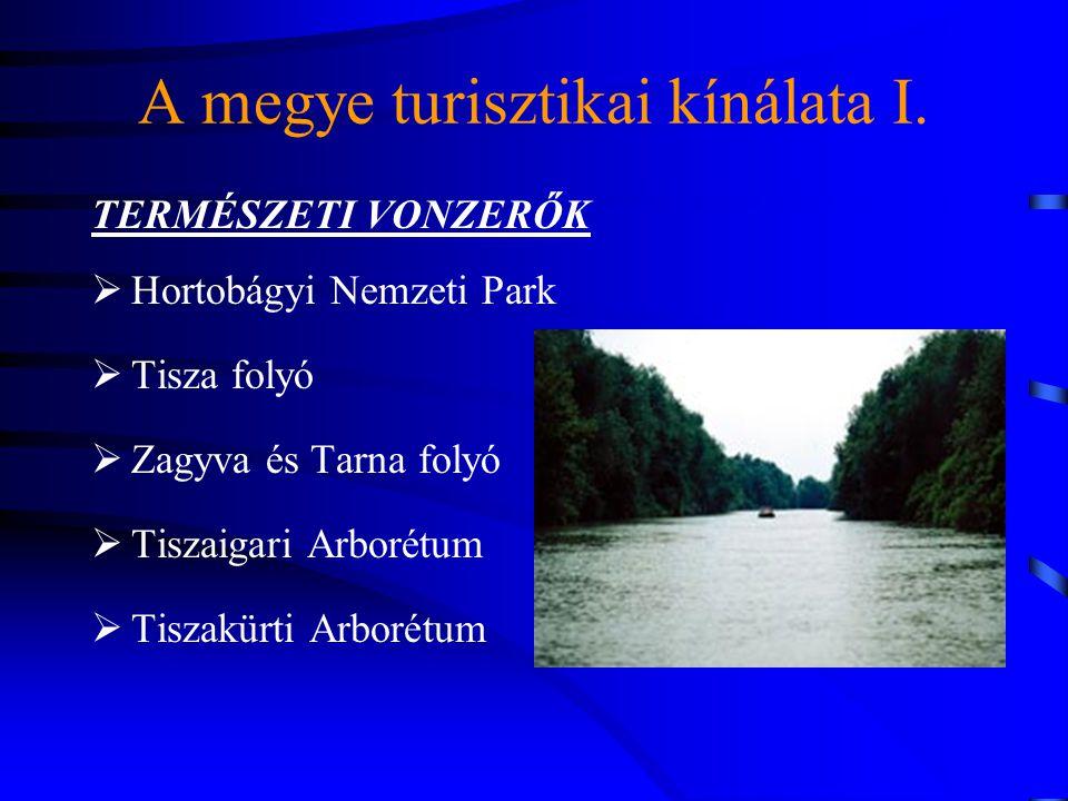 A megye turisztikai kínálata I.