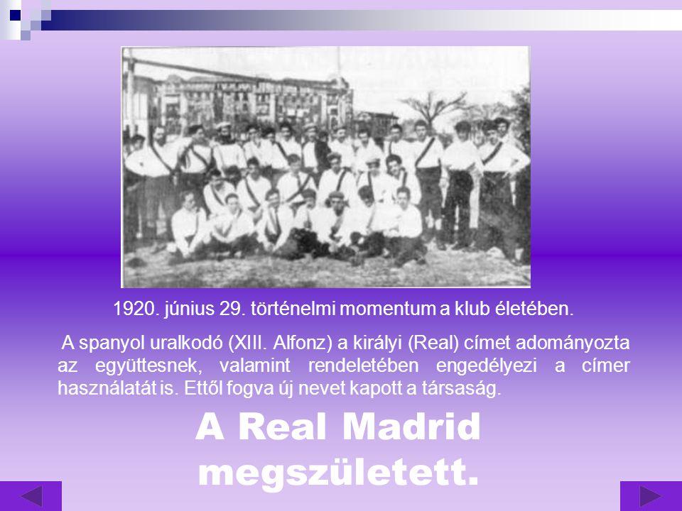 1920.június 29. történelmi momentum a klub életében.