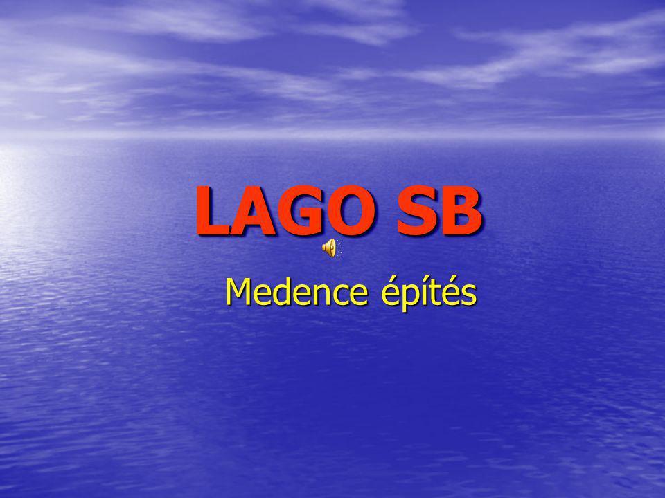 LAGO SB Medence építés