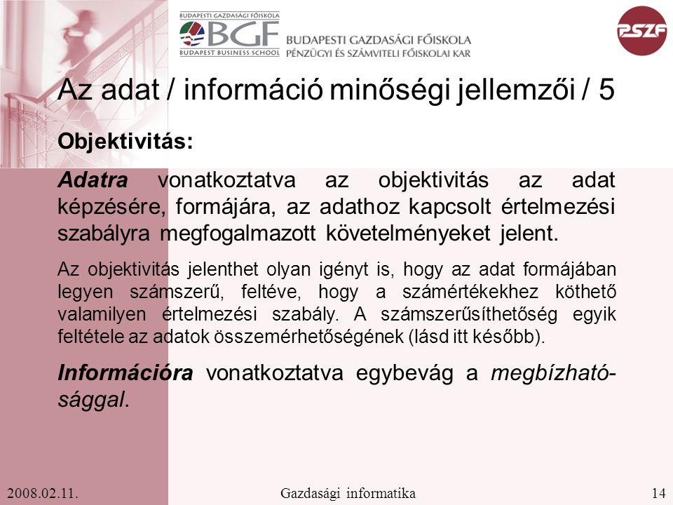 14Gazdasági informatika2008.02.11.