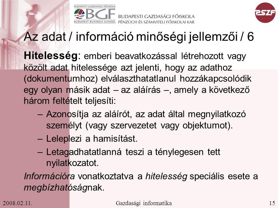 15Gazdasági informatika2008.02.11.