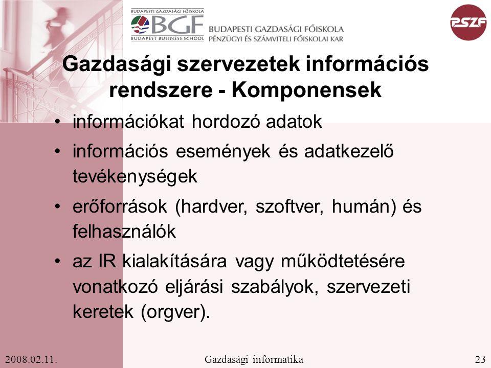 23Gazdasági informatika2008.02.11.