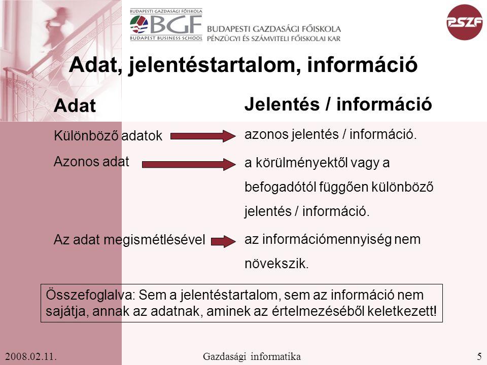 16Gazdasági informatika2008.02.11.