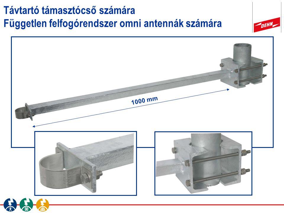 Távtartó támasztócső számára Független felfogórendszer omni antennák számára 1000 mm