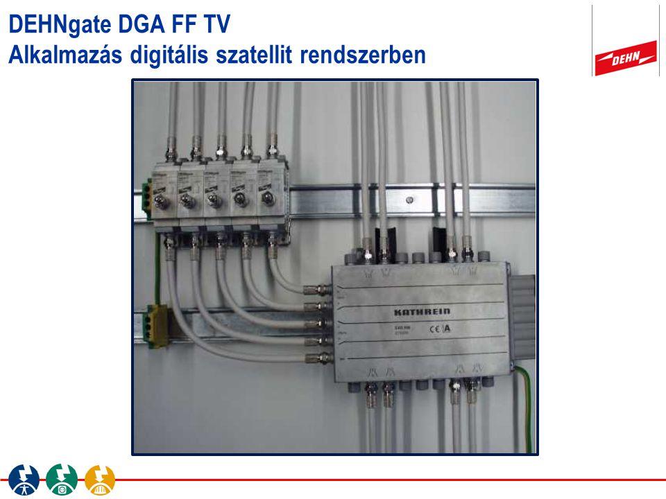 DEHNgate DGA FF TV Alkalmazás digitális szatellit rendszerben