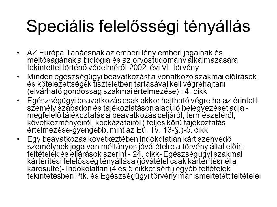 Tájékoztatás III.