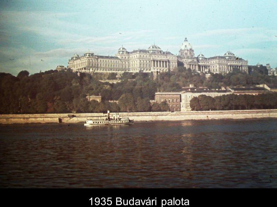 1935 Budavári palota