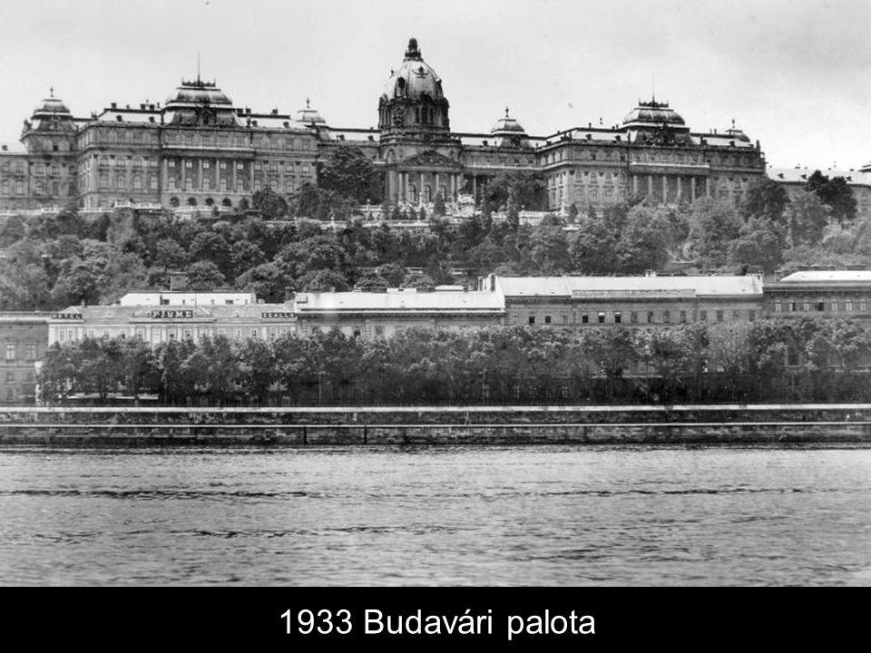 1933 Budavári palota