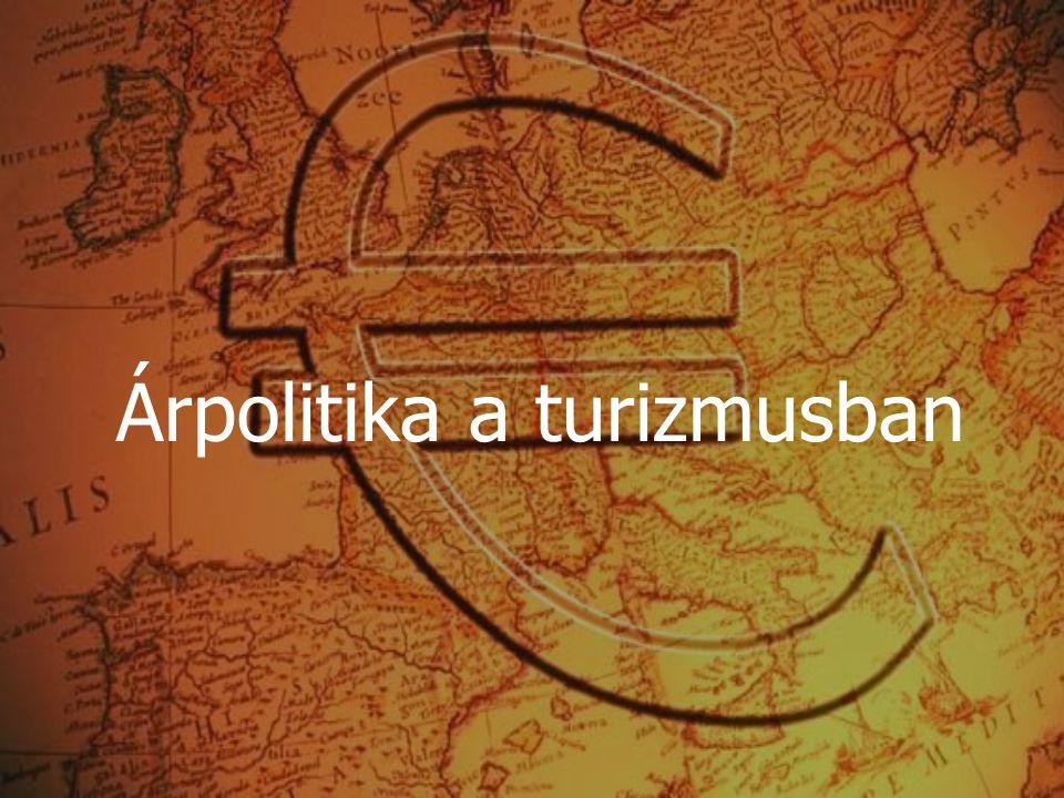 Árpolitika a turizmusban
