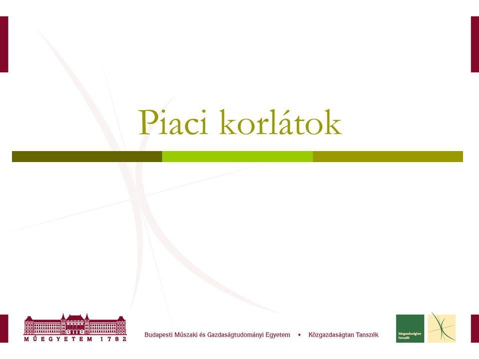 Első három hét anyaga: Kopányi Mihály (szerk): Mikroökonómia 6.,7.,8.,9., fejezetek Pepall-Richards-Norman: Piacelmélet 2-3-4.