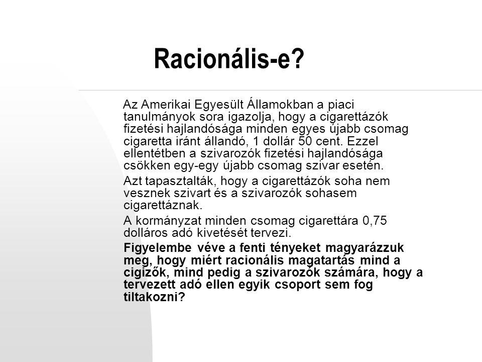 Racionális-e.