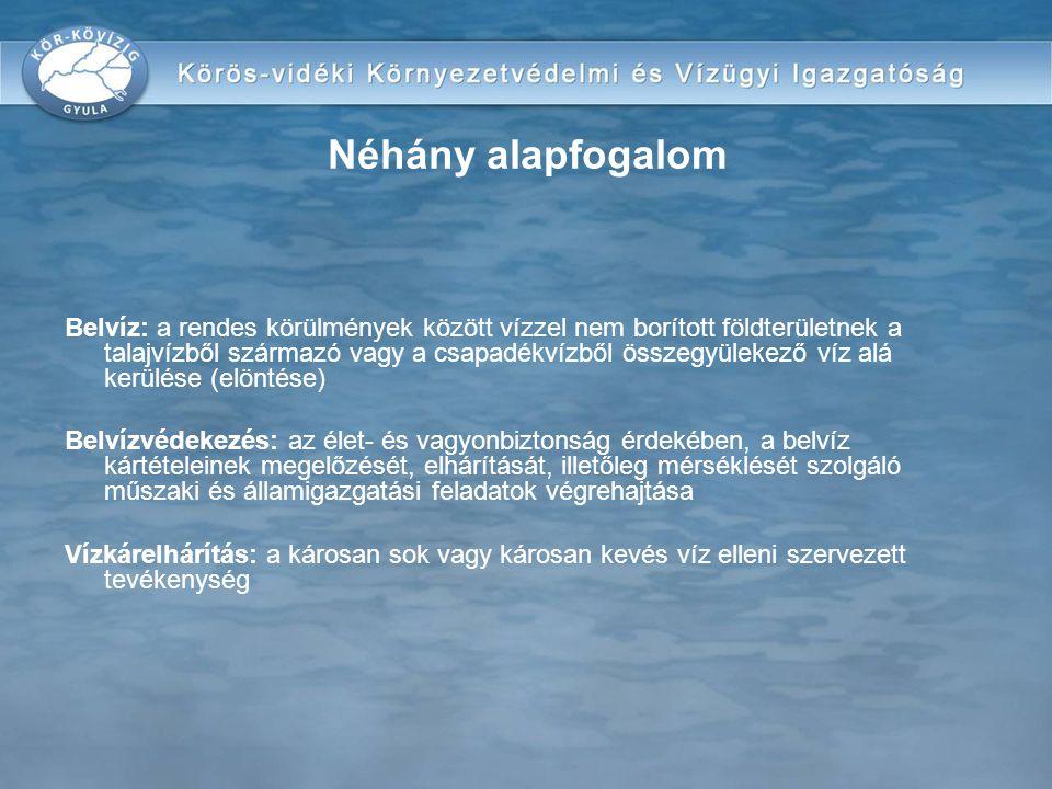 védekezés ideje alatt napi jelentés megküldése: Polgármesterek –KÖVÍZIG műszaki ügyeletére Vízgazdálkodási Társulatok –KÖVÍZIG műszaki ügyeletére –(ezek a napi jelentések képezik a vízügyi igazgatóság területi koordinációs tevékenységének információs alapját) KÖVÍZIG minden nap 9 00 óráig – a saját, illetve a polgármesterek és vízgazdálkodási társulatok tevékenységéről egyaránt –VKKI műszaki ügyeletére (232/1996.