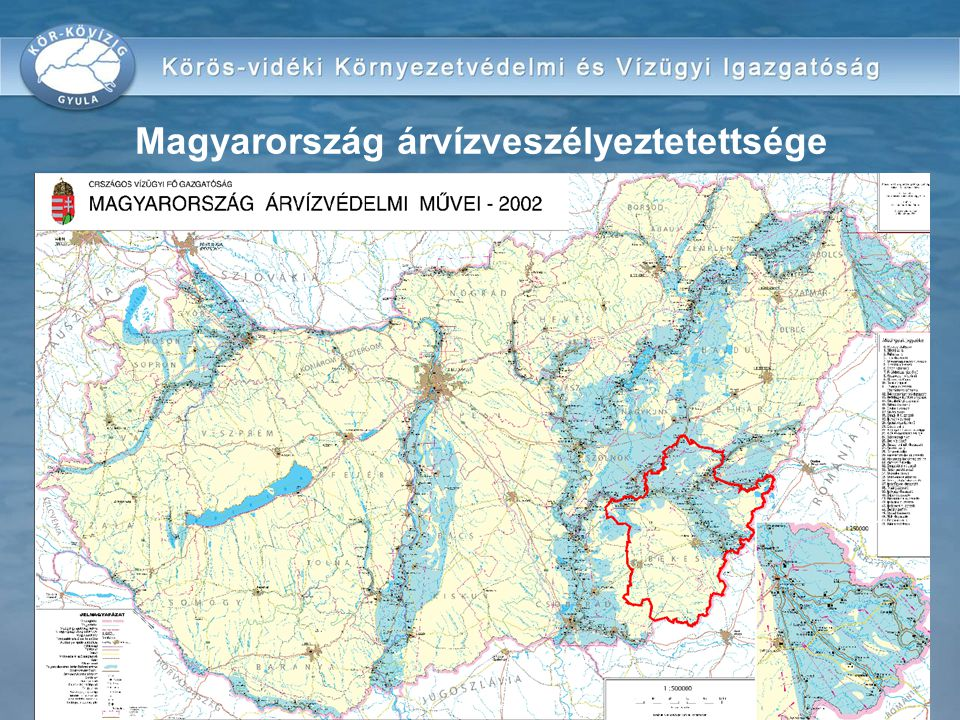 Magyarország árvízveszélyeztetettsége