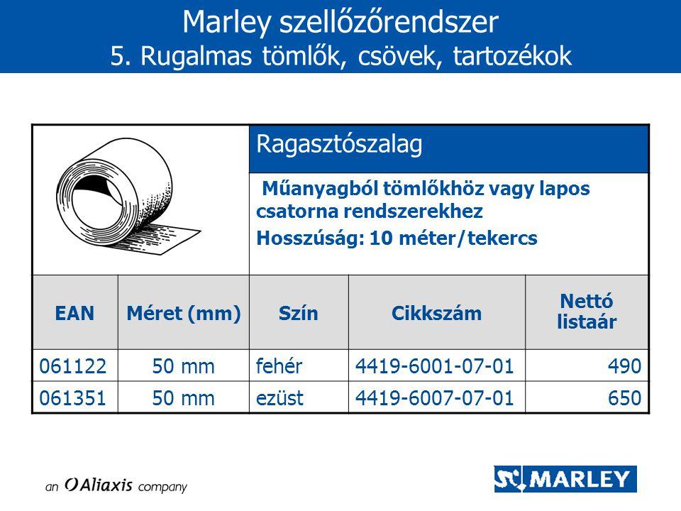 Ragasztószalag Műanyagból tömlőkhöz vagy lapos csatorna rendszerekhez Hosszúság: 10 méter/tekercs EANMéret (mm)SzínCikkszám Nettó listaár 06112250 mmf