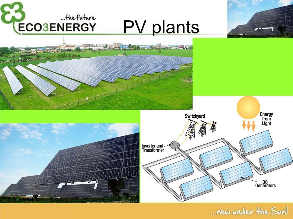 PV plants