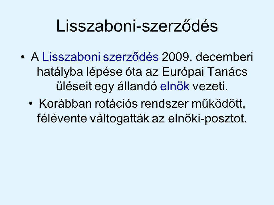 Európai Unió bővítése 6 alapító 1973 Anglia,Dánia,Íror szág 1981 Görögország 1986 Portugália Spanyolország 1995 Ausztria,Finnország,Svédország 2004 Legnagyobb bővítés= 10 ország 2007 Bulgária Románia Magyarország Szlovákia Szlovénia Málta Csehország Lengyelország Észtország Lettország Litvánia Ciprus