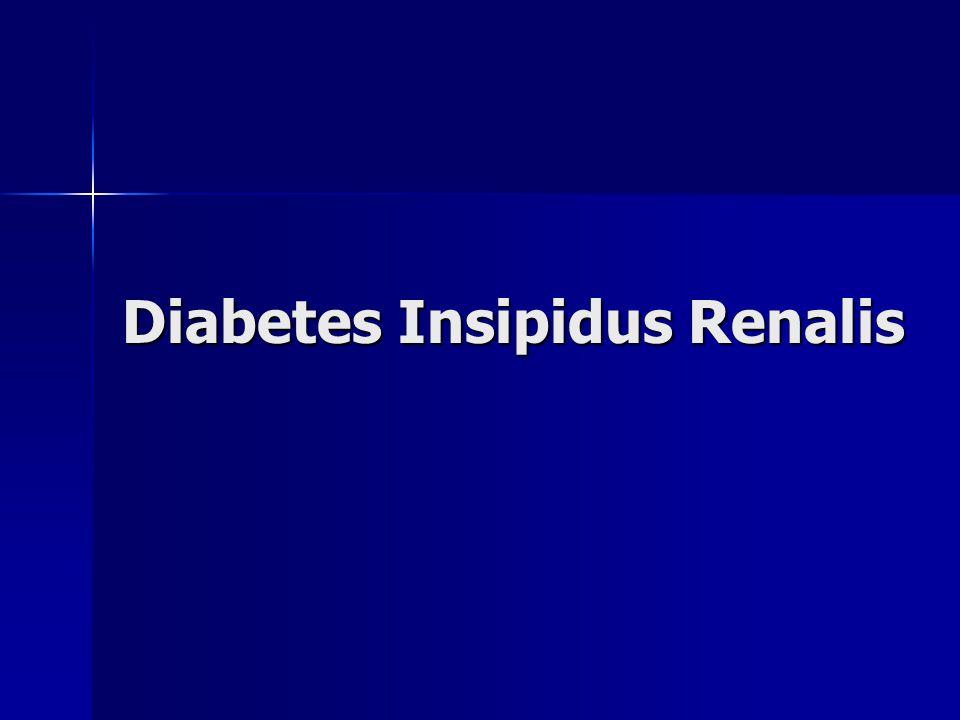 Diabetes Insipidus Renalis