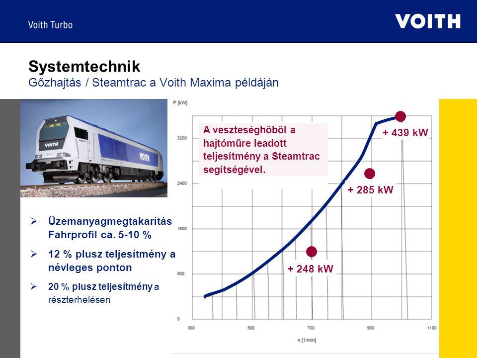 EcoPack | 2008-03-04 | 11  Üzemanyagmegtakarítás Fahrprofil ca. 5-10 %  12 % plusz teljesítmény a névleges ponton  20 % plusz teljesítmény a részte