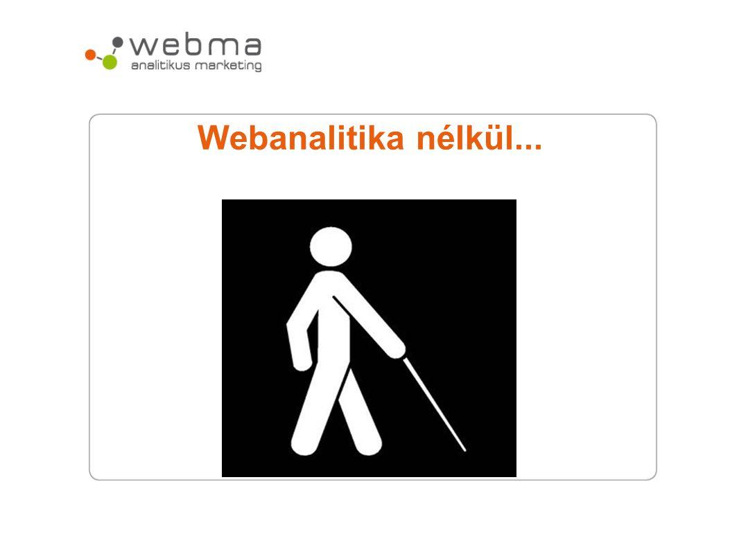 Webanalitika nélkül...