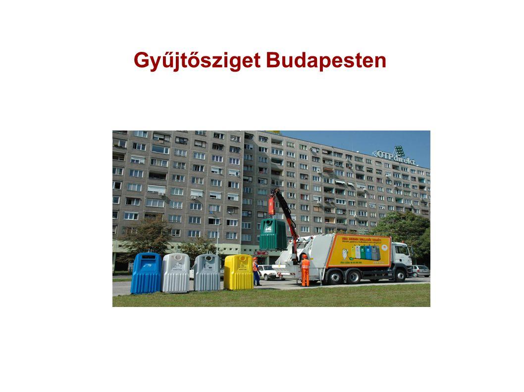 Gyűjtősziget Budapesten