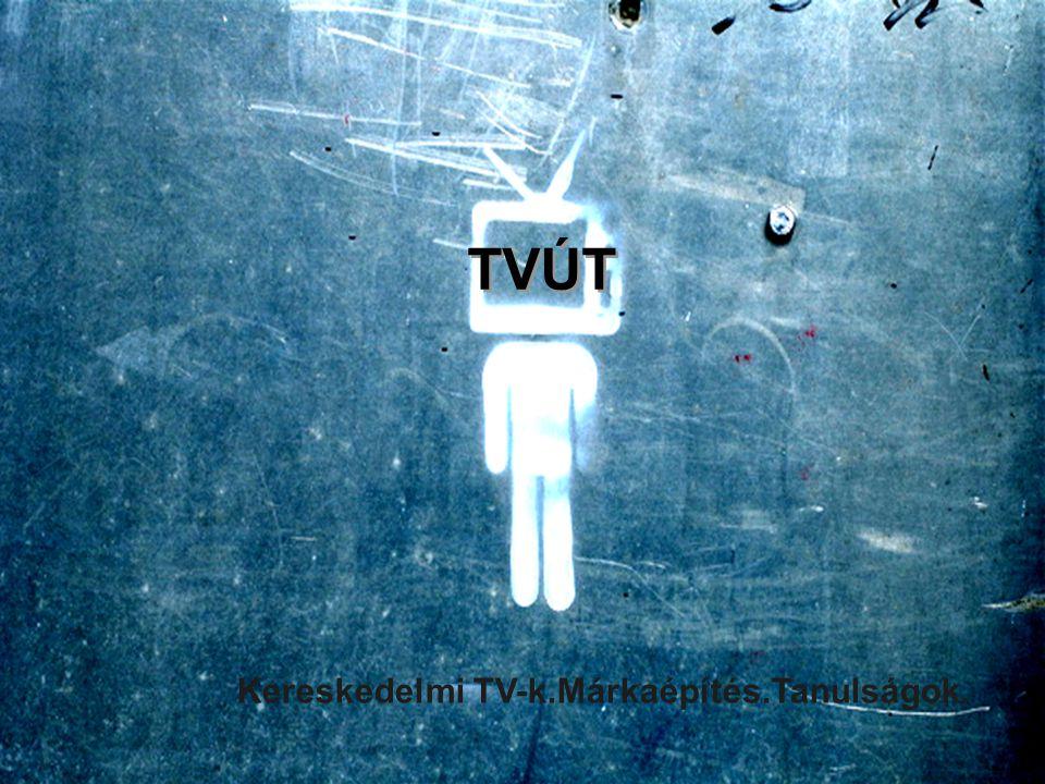 TVút A hazai kereskedelmi TV-s márkaépítés tanulságai. Kereskedelmi TV-k.Márkaépítés.Tanulságok. TVÚT