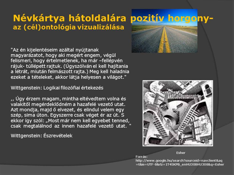 Képernyővédő mint pozitív horgony- az (cél)ontológia vizualizálása