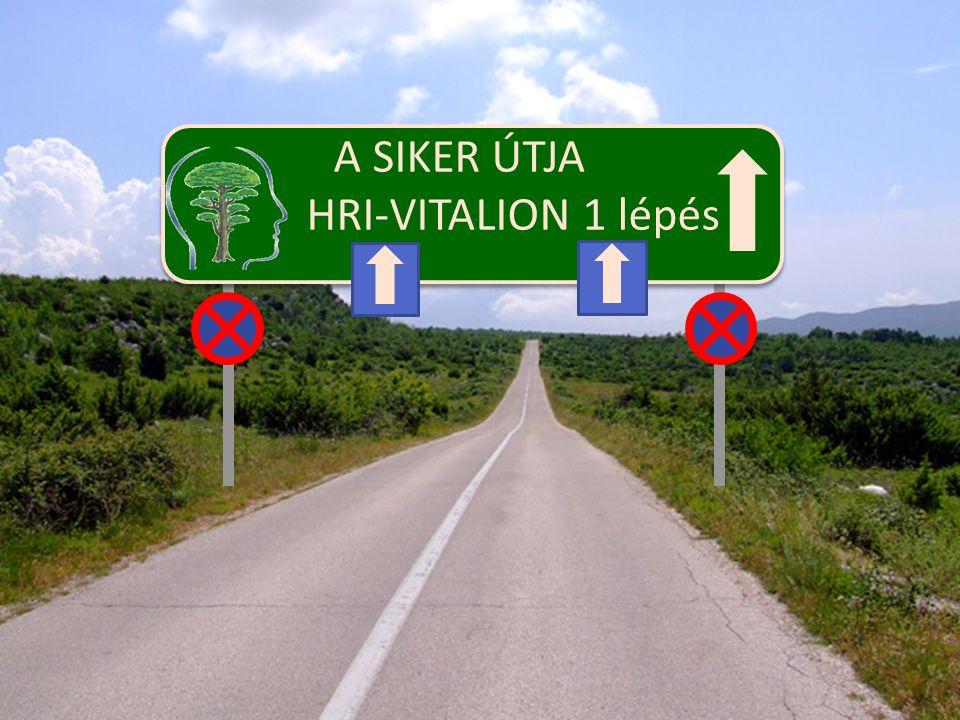 A SIKER ÚTJA HRI-VITALION 1 lépés