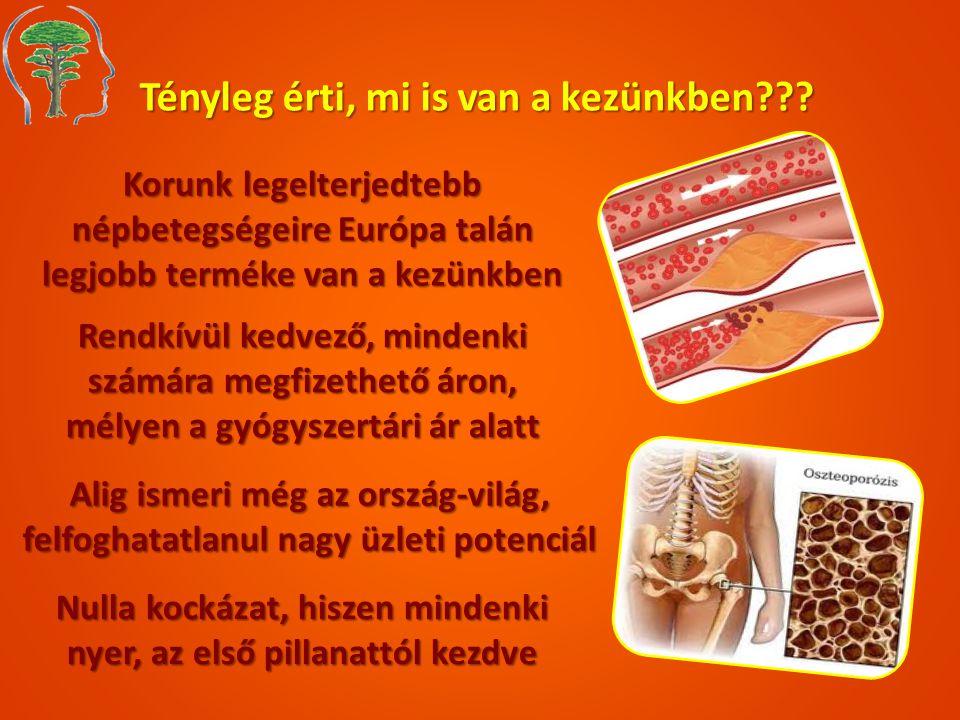 Tényleg érti, mi is van a kezünkben??? Korunk legelterjedtebb népbetegségeire Európa talán legjobb terméke van a kezünkben Rendkívül kedvező, mindenki