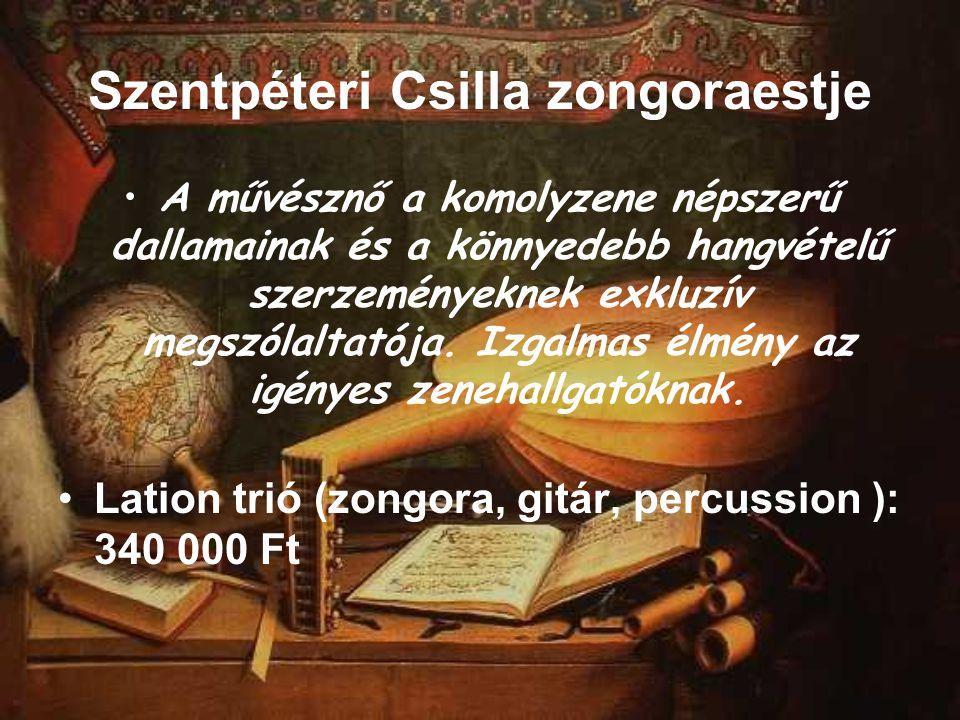 Szentpéteri Csilla zongoraestje A művésznő a komolyzene népszerű dallamainak és a könnyedebb hangvételű szerzeményeknek exkluzív megszólaltatója. Izga