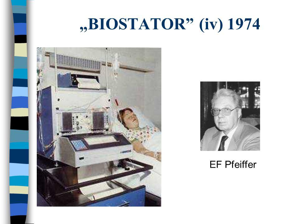 """BIOSTATOR"" (iv) 1974 EF Pfeiffer"