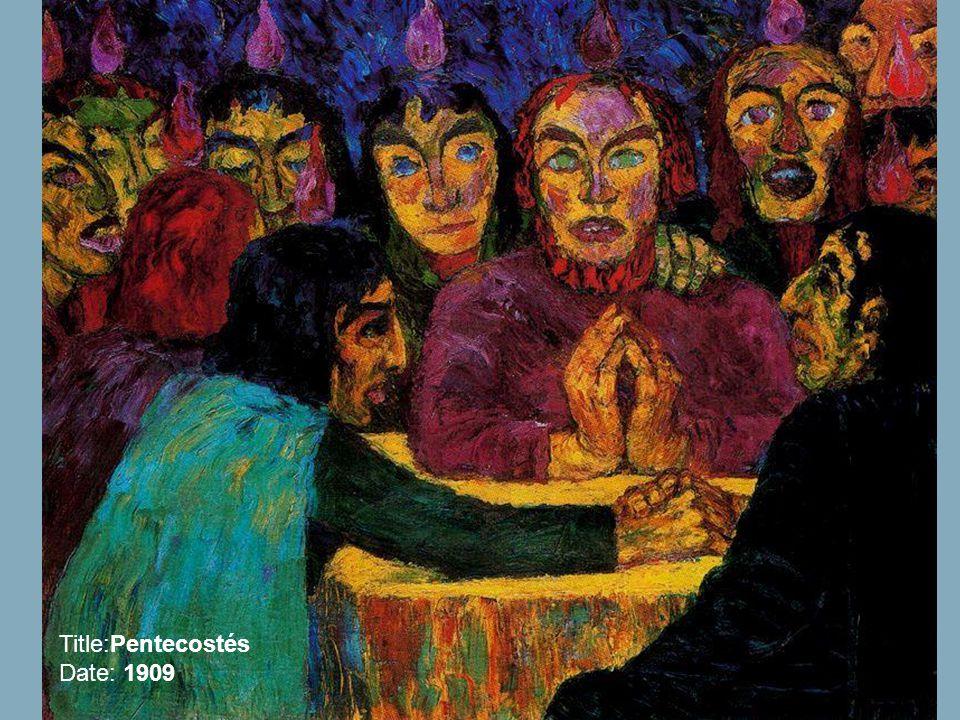 Title:Pentecostés Date: 1909