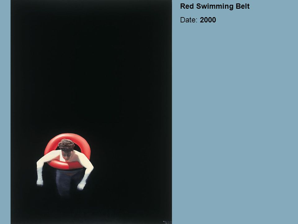 Red Swimming Belt Date: 2000
