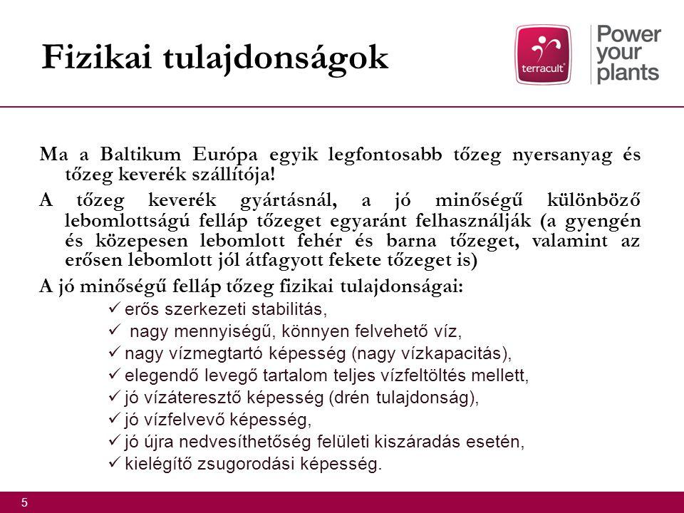 Ma a Baltikum Európa egyik legfontosabb tőzeg nyersanyag és tőzeg keverék szállítója.